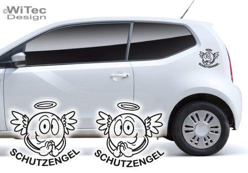 Schutzengel Engel Autoaufkleber Auto Aufkleber Angel 2er Set