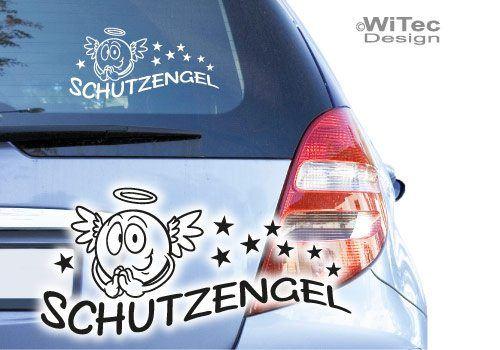 Schutzengel Engel Autoaufkleber Sterne Auto Aufkleber