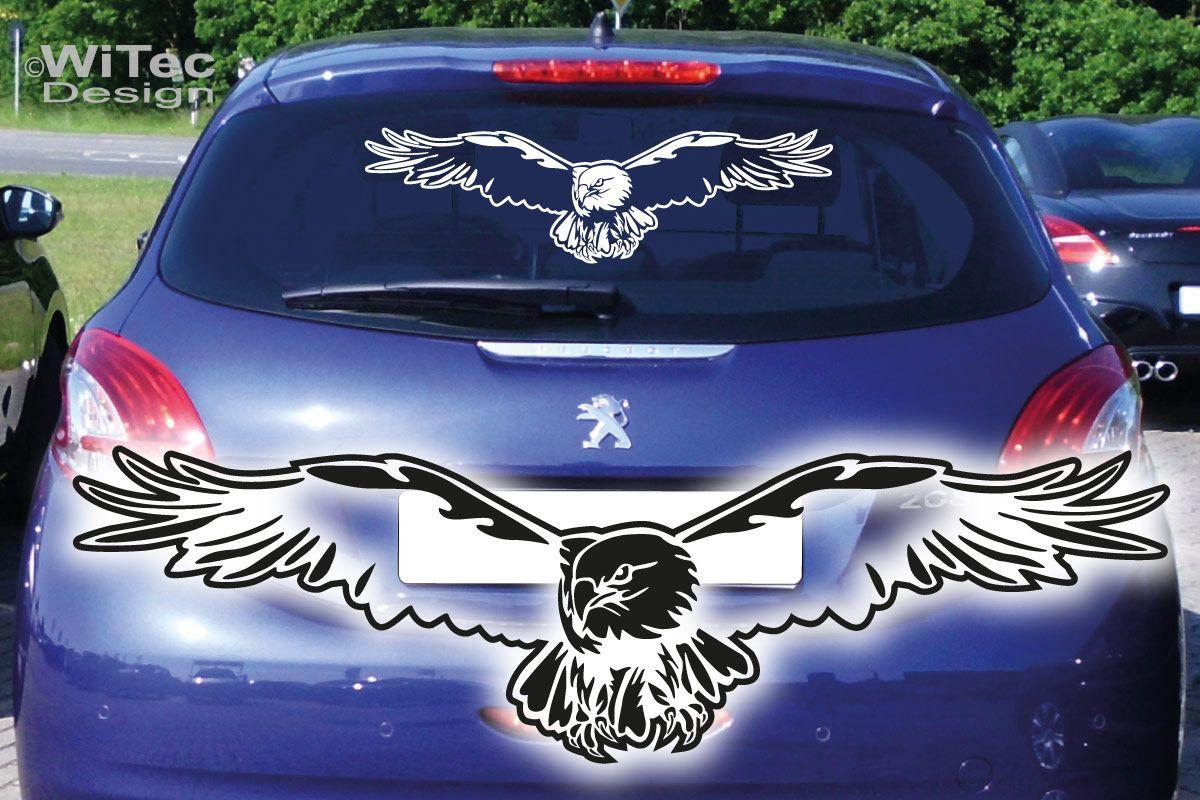 Autoaufkleber Adler Eagle Auto Aufkleber Heckscheibe Tattoo