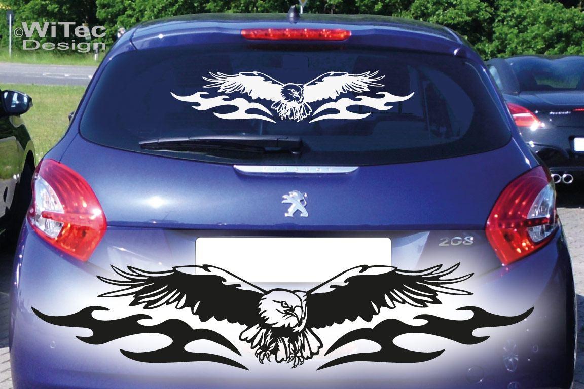 Autoaufkleber Adler Tribal Auto Aufkleber Heckscheibe Sticker