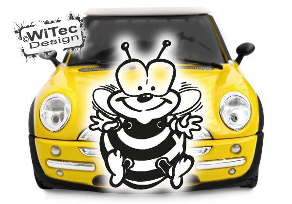 Autoaufkleber Biene