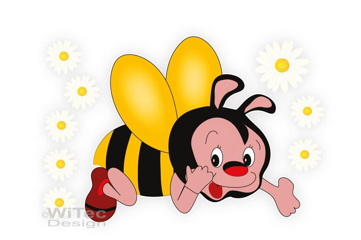 Biene Blumen Auto Aufkleber Autoaufkleber Sticker