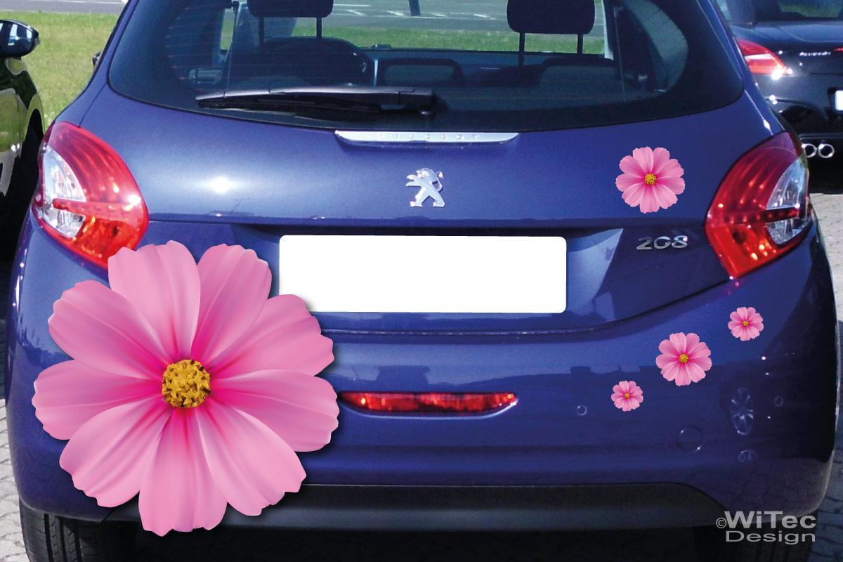 Auto Aufkleber Blumen Autoaufkleber Sticker