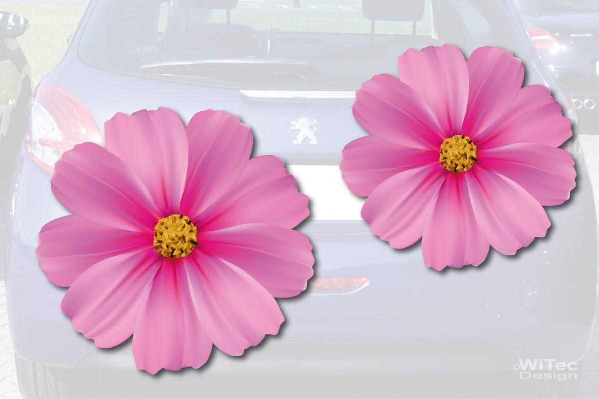 Blumen Auto Aufkleber Autoaufkleber Sticker