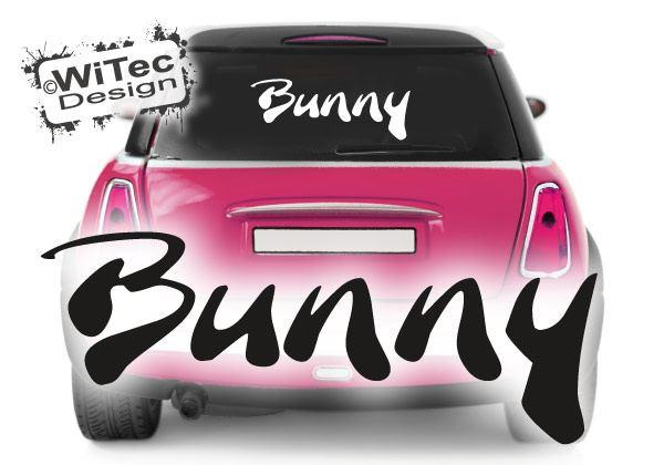 Autoaufkleber Bunny Heckscheibenaufkleber