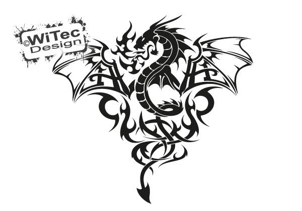 Drache Autoaufkleber Dragon