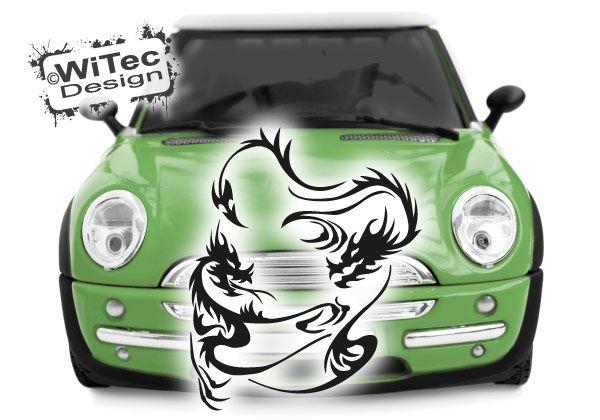 Autoaufkleber Drache Drachen