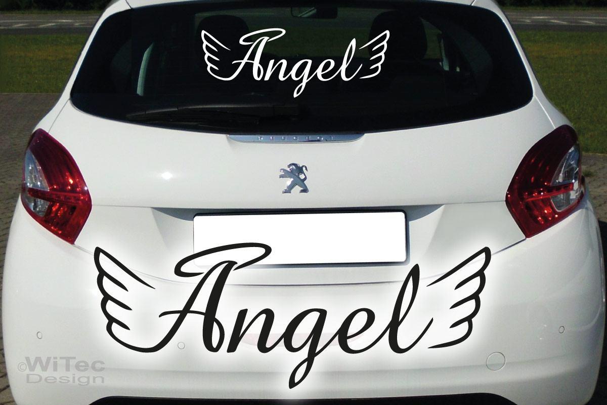 Auto Aufkleber Engel Angel Autoaufkleber Sticker