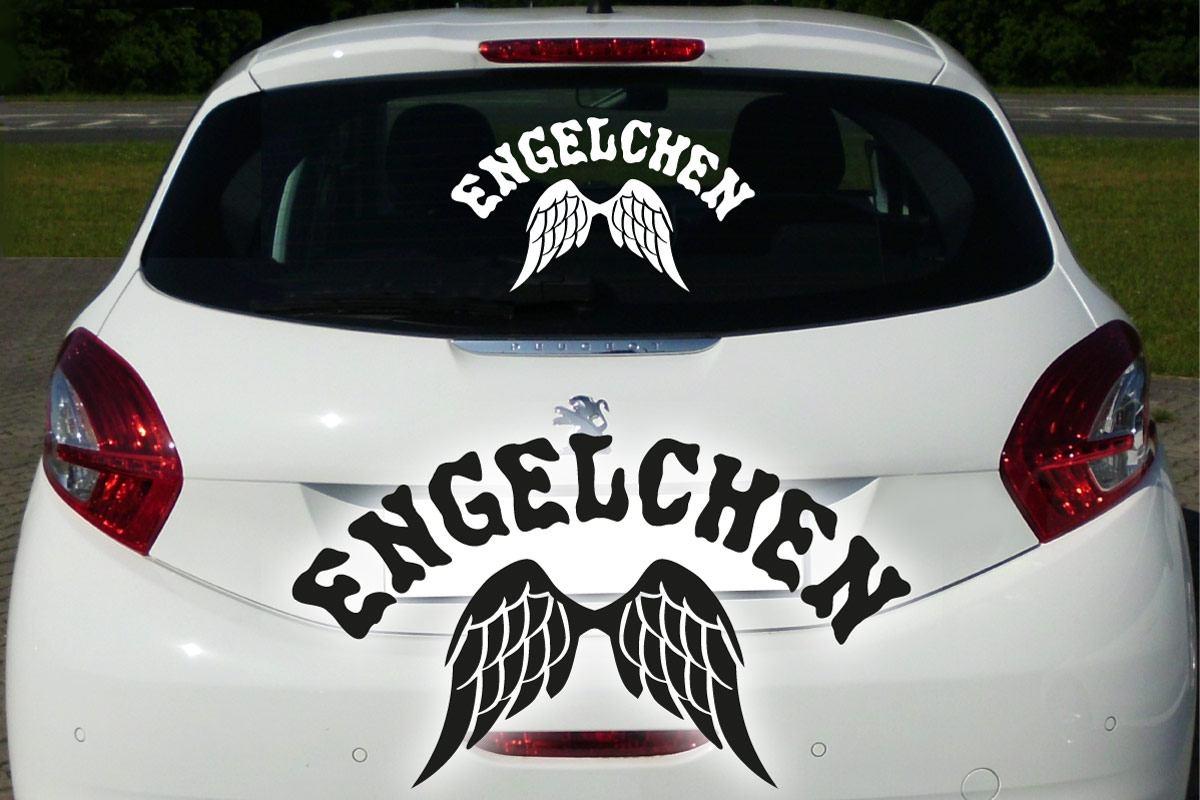 Autoaufkleber Engel Flügel Auto Aufkleber Heckscheibe Tattoo