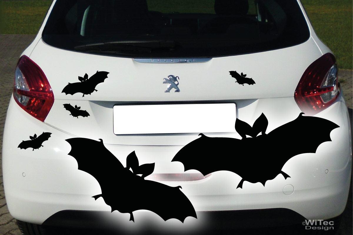 Auto Aufkleber Fledermaus Autoaufkleber Set Tattoo