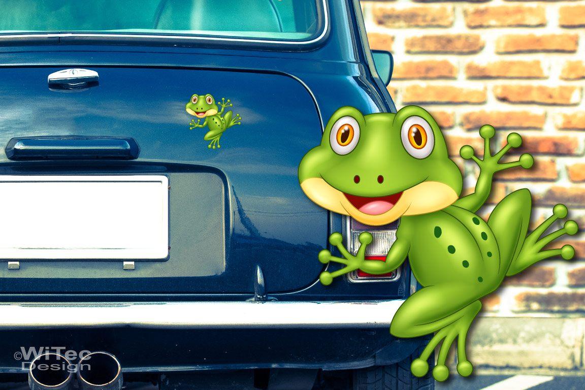 Autoaufkleber Frosch Kröte Auto Aufkleber Digitaldruck