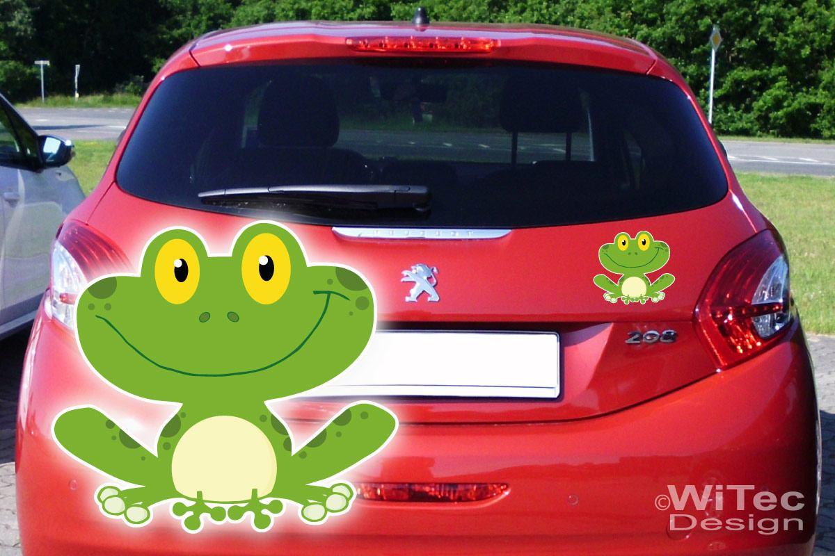 Auto Aufkleber Frosch Autoaufkleber Sticker