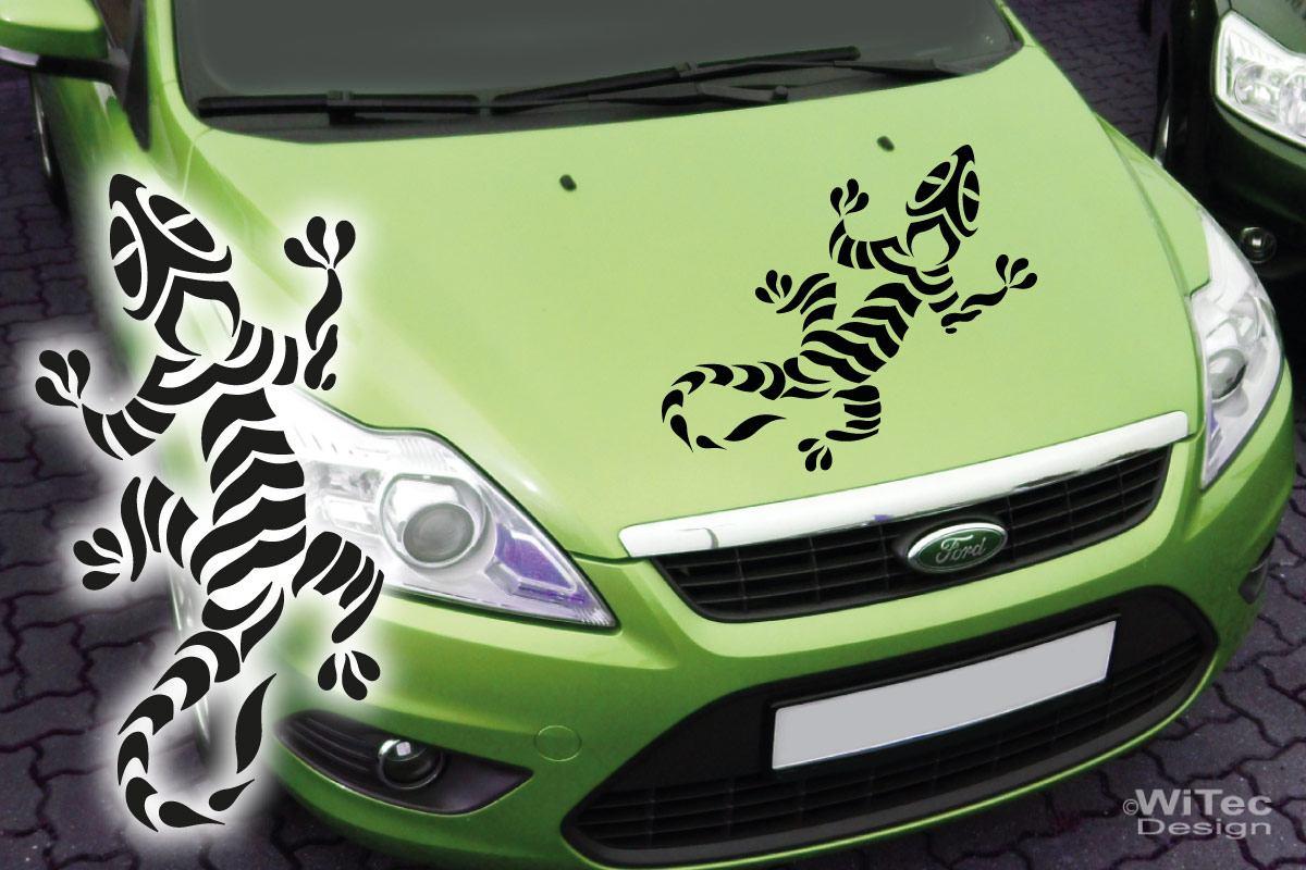 Autoaufkleber Gecko Auto Aufkleber Kopf Tattoo