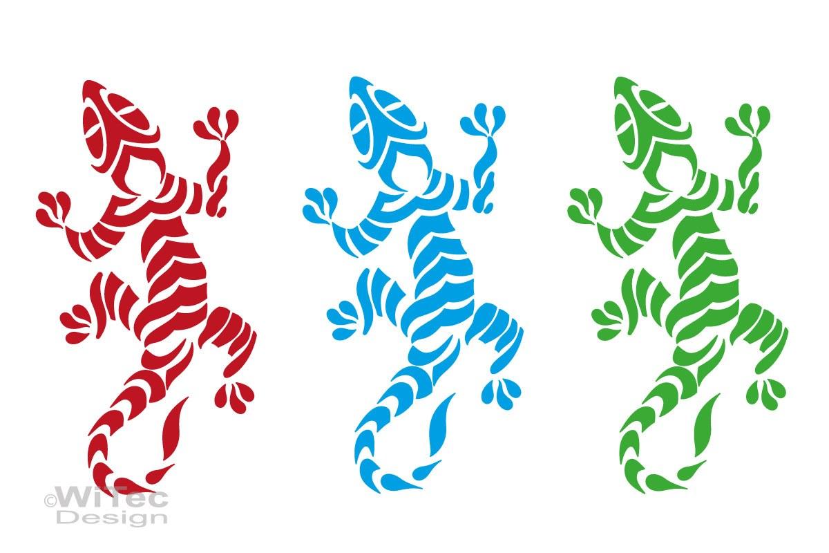 Auto Aufkleber Gecko Autoaufkleber Motorhaube Tattoo