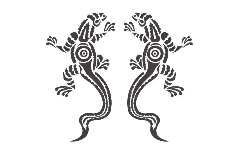 Autoaufkleber Gecko Gekko Lizard Aufkleber Sticker