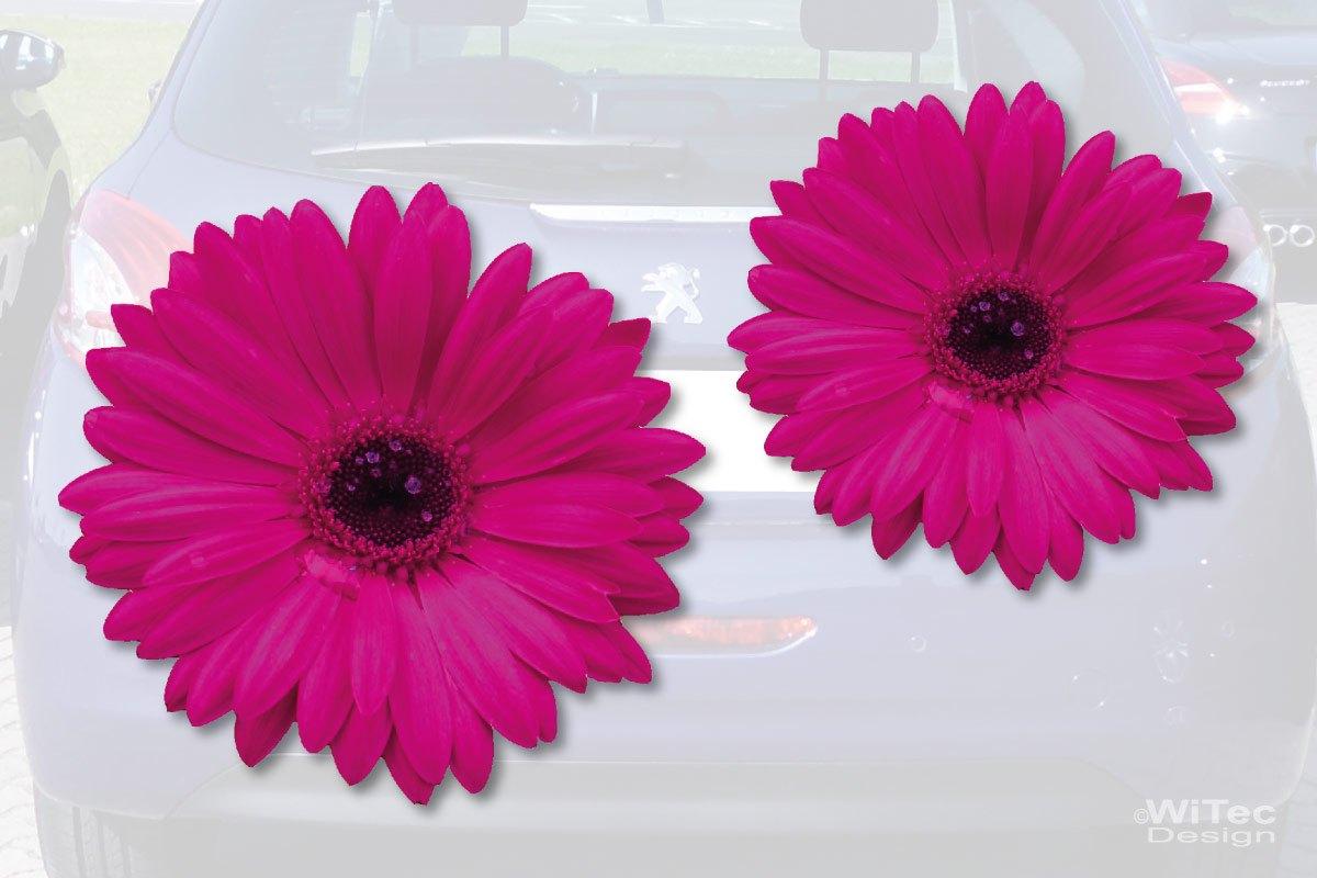 Gerbera Blumen Auto Aufkleber Autoaufkleber Sticker