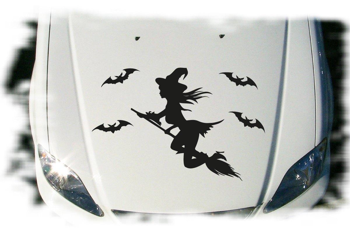 Autoaufkleber Hexe Fledermaus Auto Aufkleber Set Tattoo