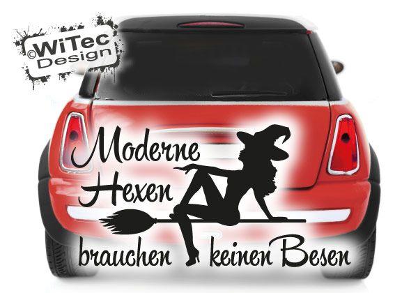 Autoaufkleber Hexe Moderne Hexen