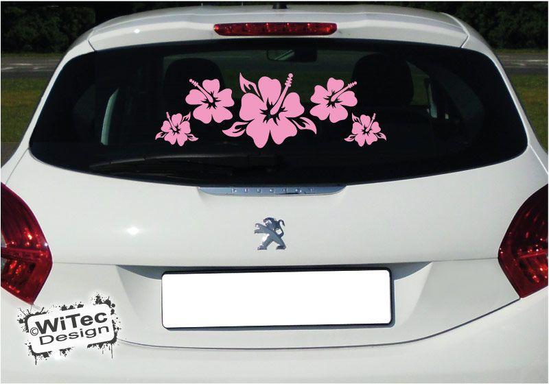 Autoaufkleber Hibiskus blume auto aufkleber Hawaii