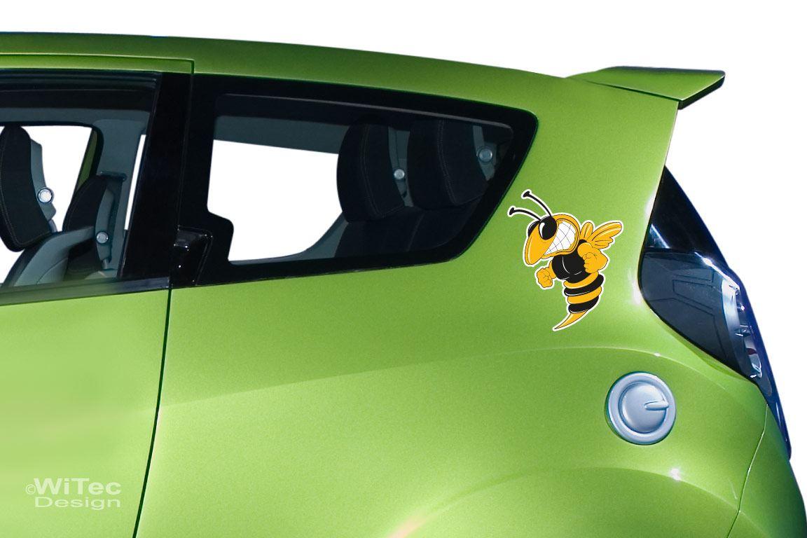 Autoaufkleber Hornisse Biene Auto Aufkleber Wespe 2er Set