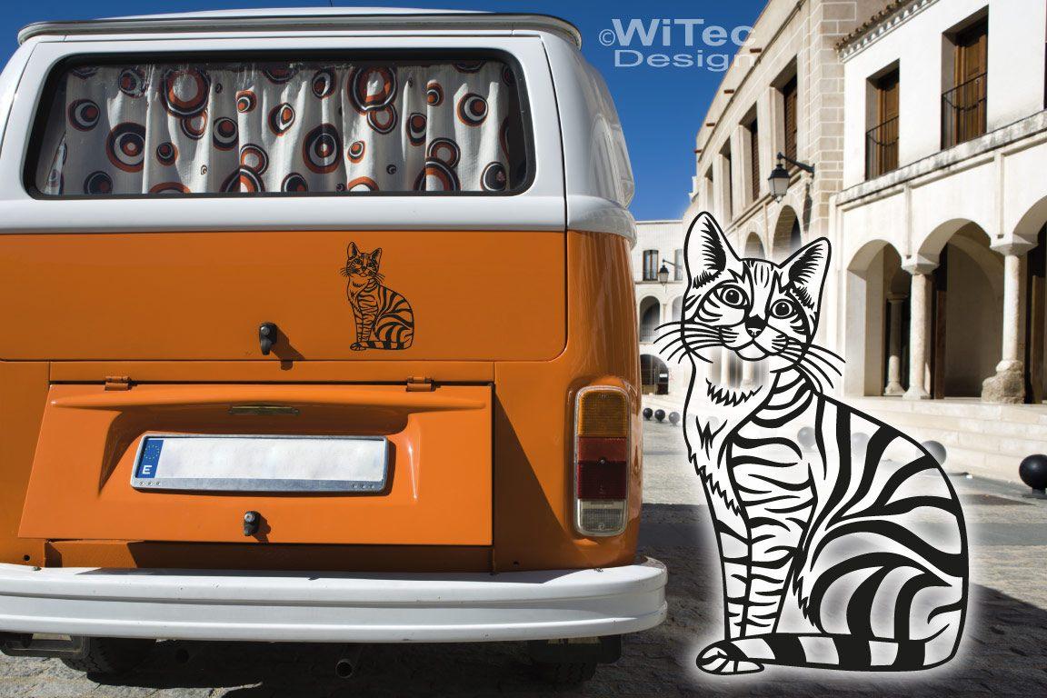 Autoaufkleber Katze Kätzchen Kitty Auto Aufkleber