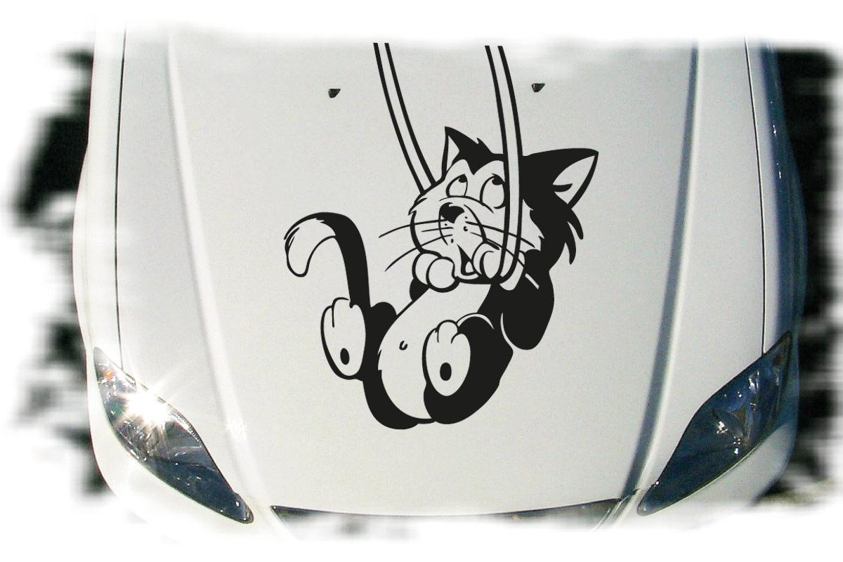 Katze Kätzchen Auto Aufkleber Motorhaube