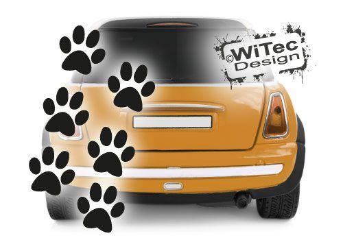 Katzenpfoten Katzen Pfoten Aufkleber Auto Sticker Deko