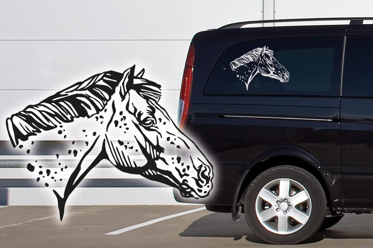 Appaloosa Auto Aufkleber Pferde