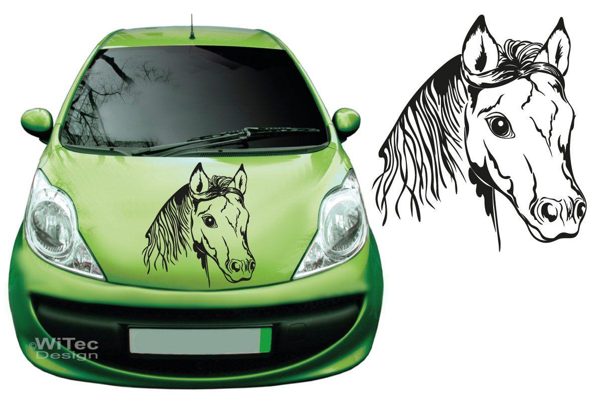 Autoaufkleber Pferd Auto Aufkleber Kopf Tattoo