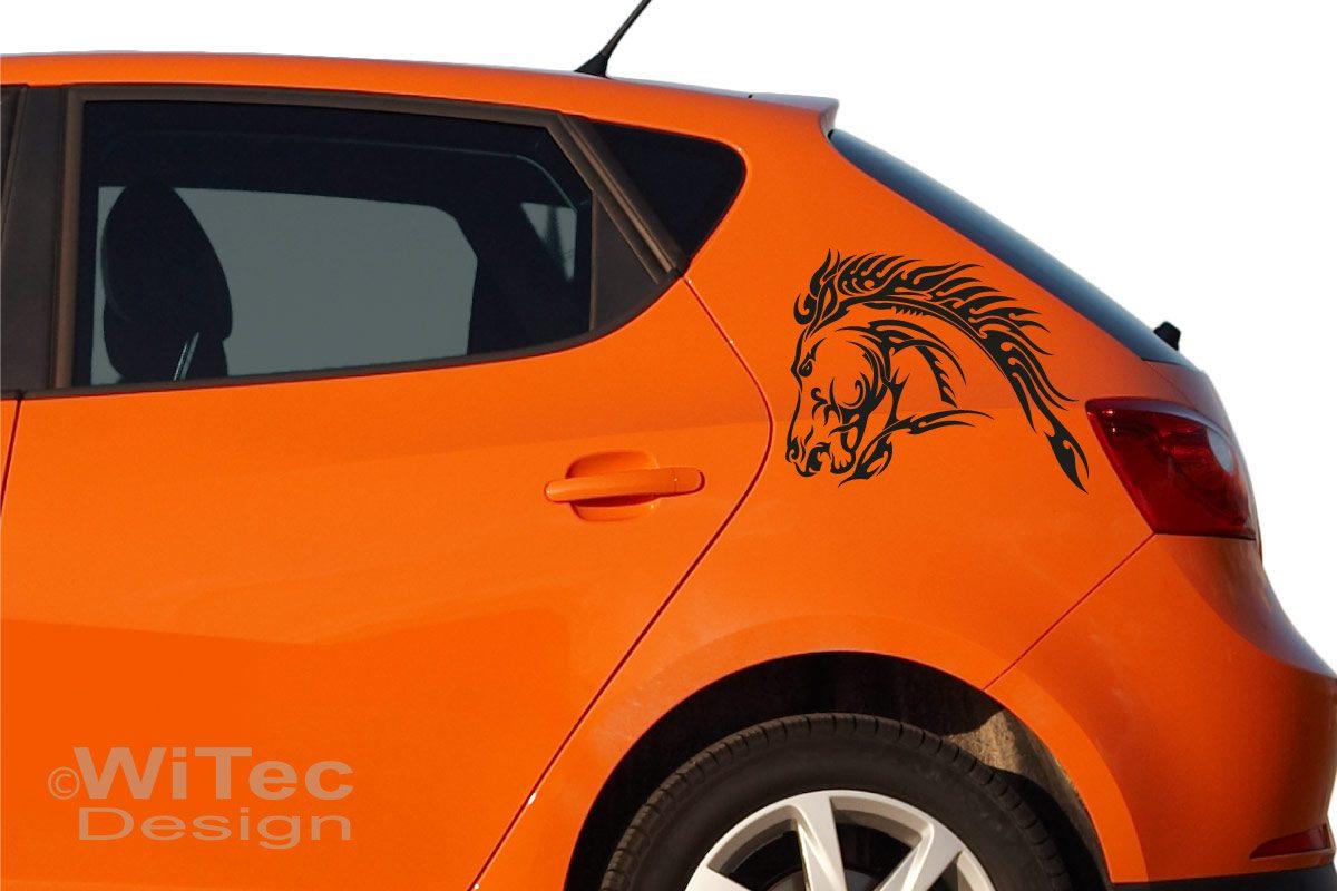 Autoaufkleber Pferd Tribal Auto Aufkleber Tattoo