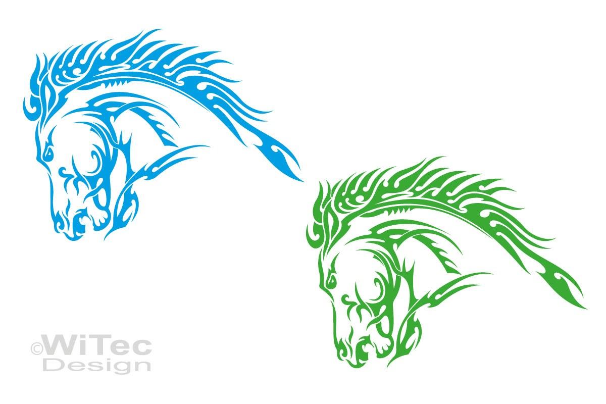 Auto Aufkleber Pferd Autoaufkleber Motorhaube Tattoo