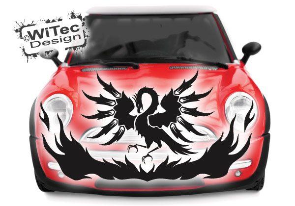 Autoaufkleber Phönix Feuervogel