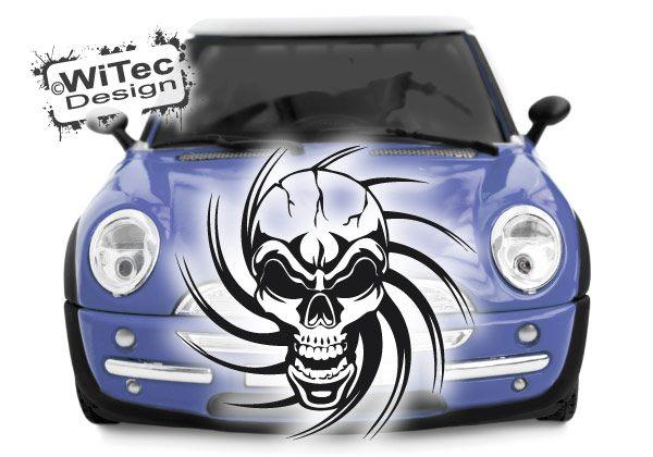 Autoaufkleber Skull Totenkopf