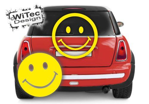Smiley Aufkleber Set Auto Autoaufkleber Sticker