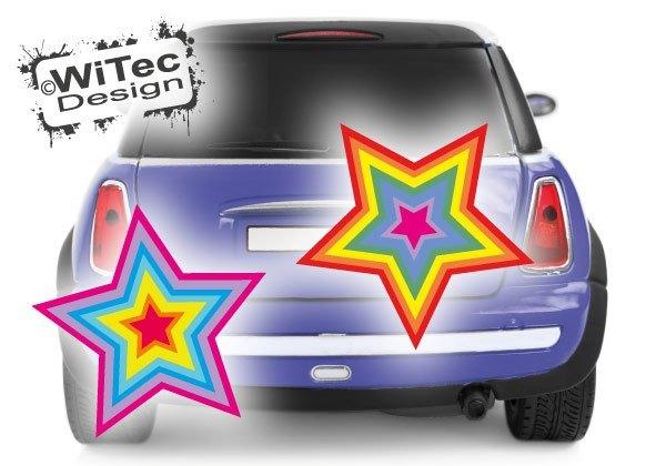 Sterne Autoaufkleber Auto Aufkleber