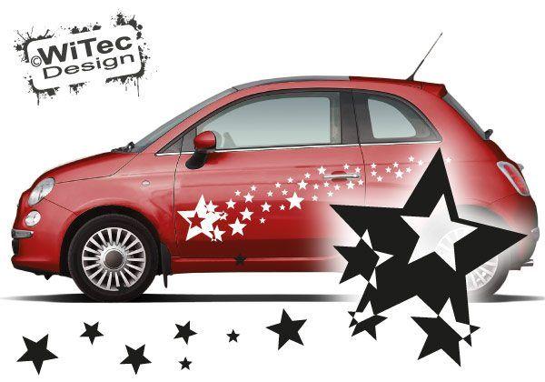 Autoaufkleber Sterne Set