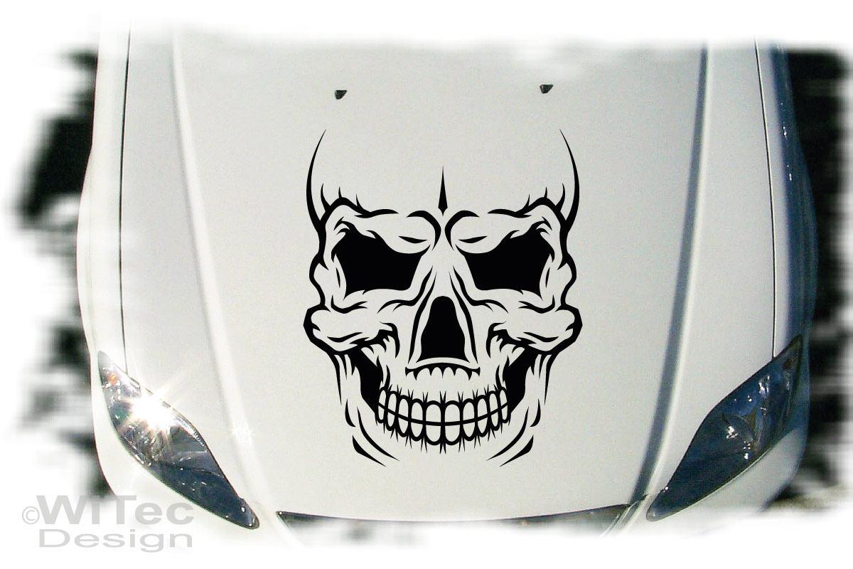 Autoaufkleber Evil Skull Auto Aufkleber Tattoo