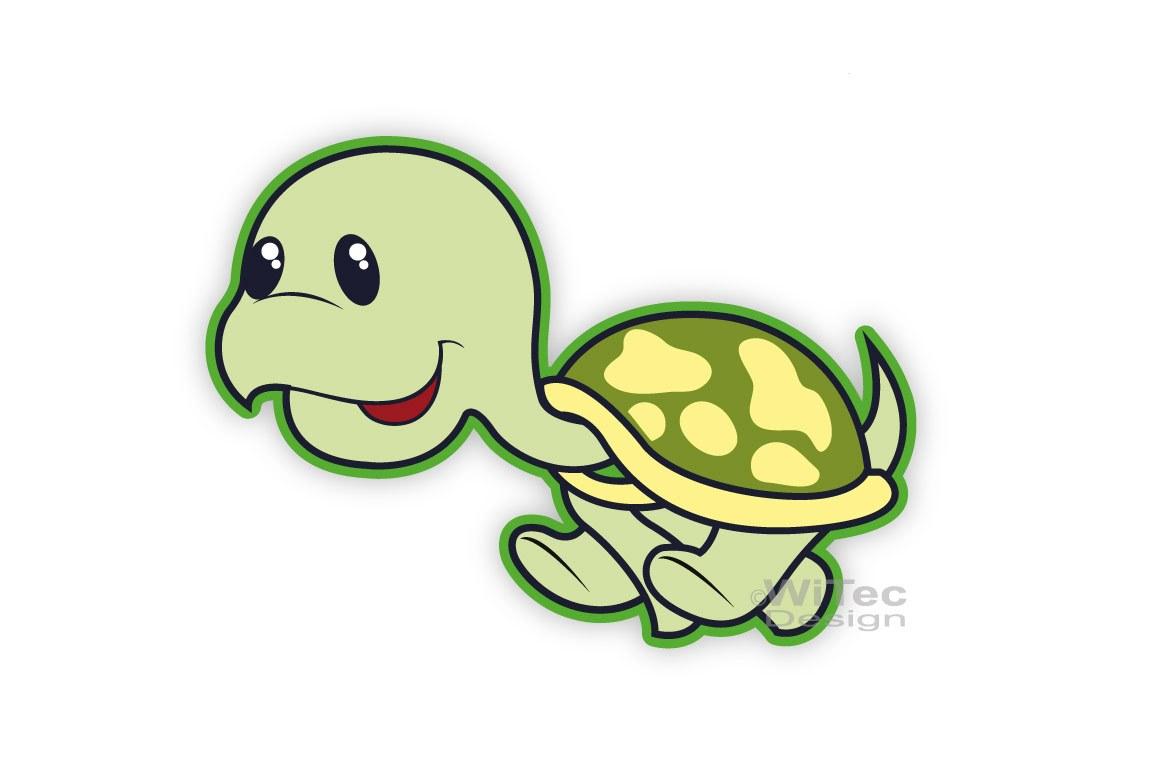 Schildkröte Turtle Auto Aufkleber Autoaufkleber Sticker