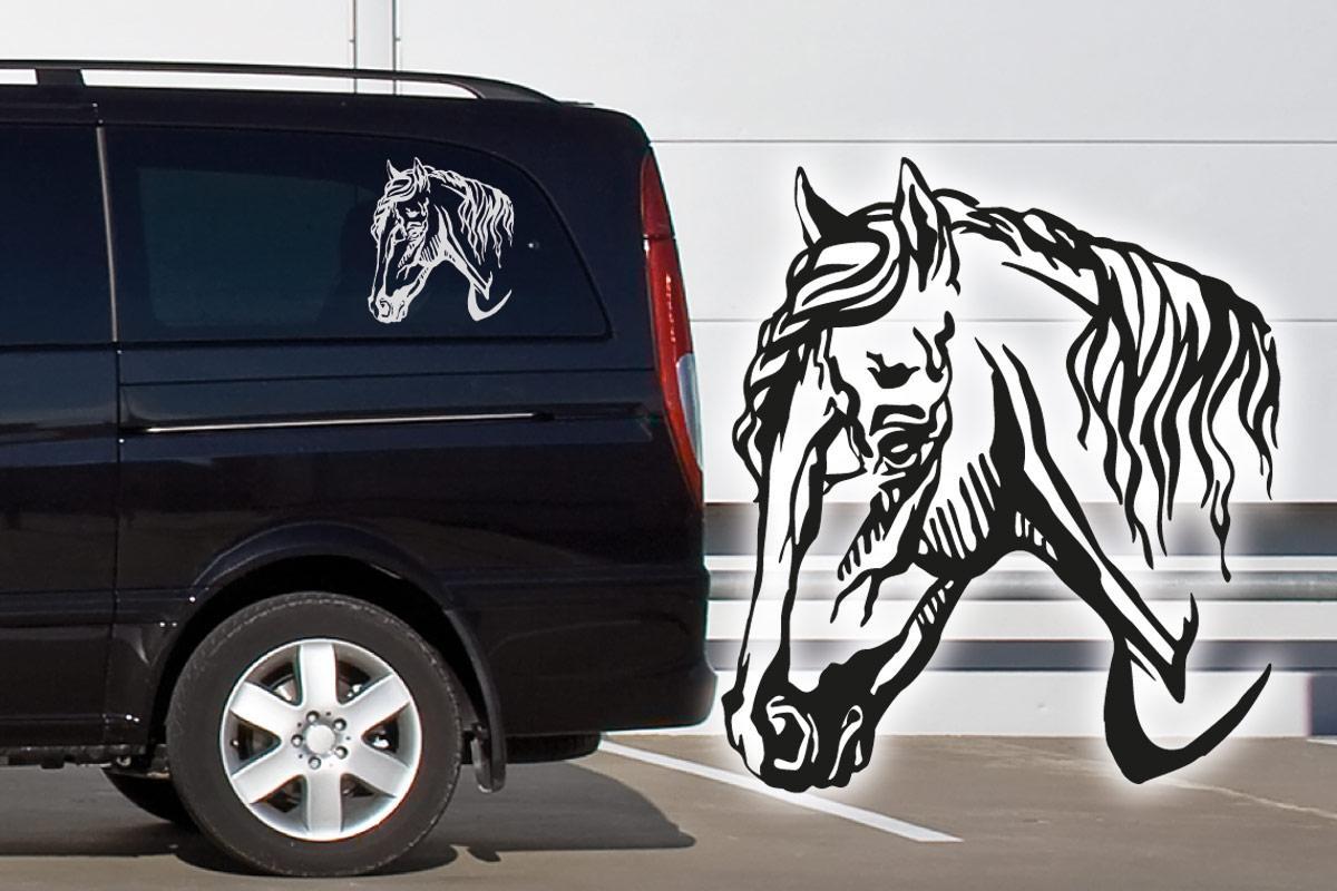 Welch Pony Auto Aufkleber Pferde