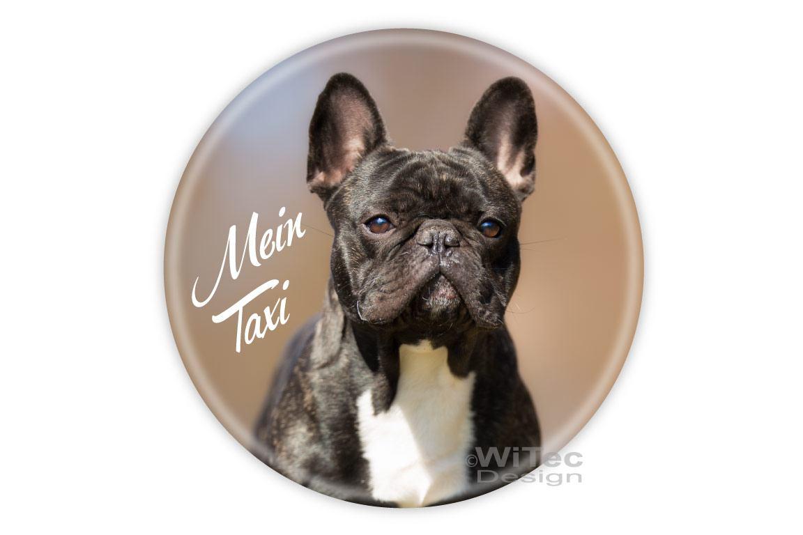 Hundeaufkleber Französische Bulldogge Auto Aufkleber Mein Taxi