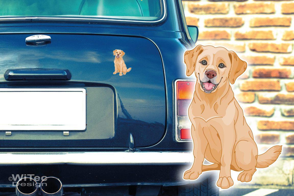 Hundeaufkleber Goden Retriever Auto Aufkleber