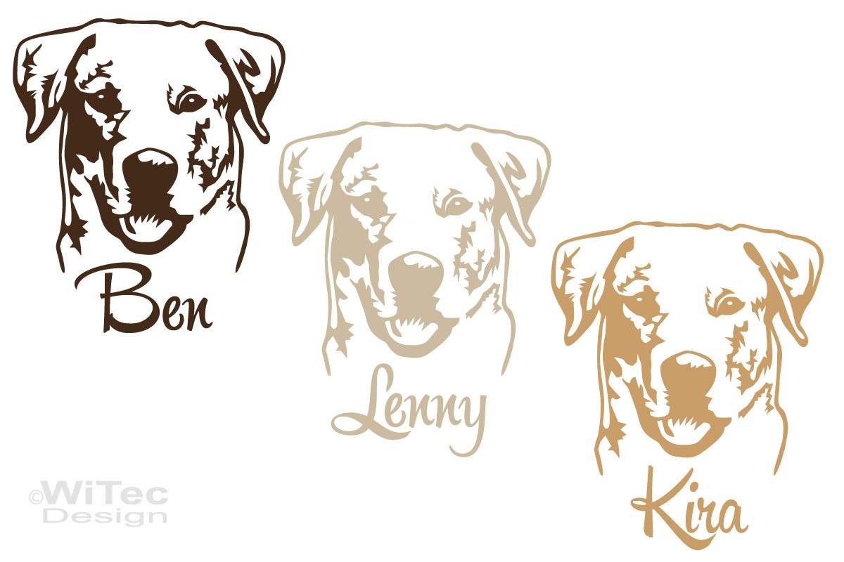 Labrador Auto Aufkleber Hundeaufkleber Sticker