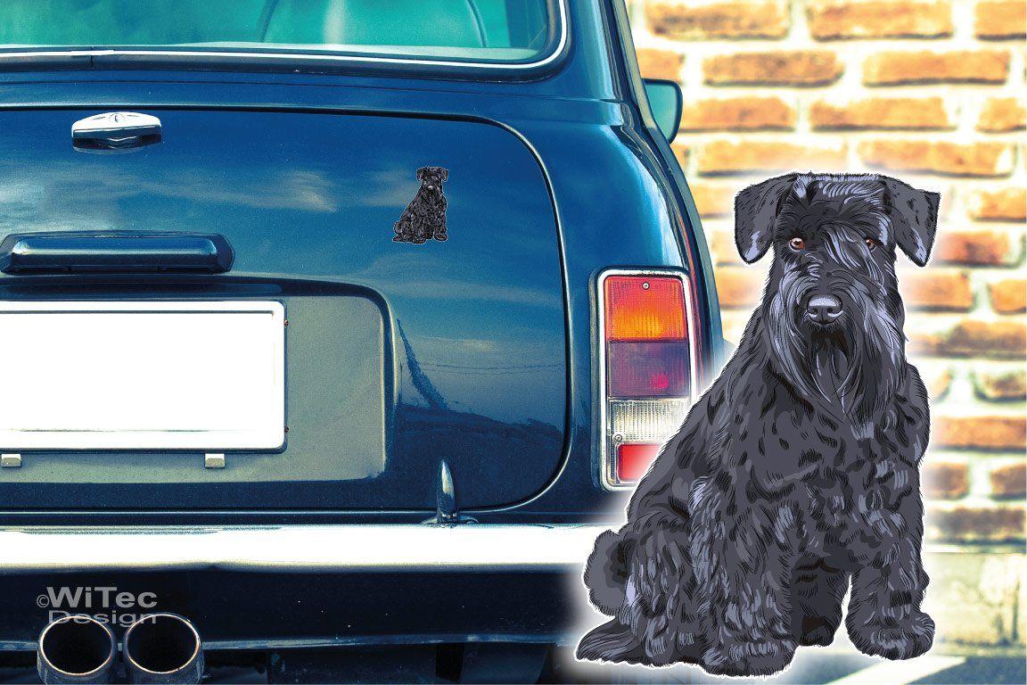 Hundeaufkleber Zwergschnauzer Schnauzer Autoaufkleber Sticker
