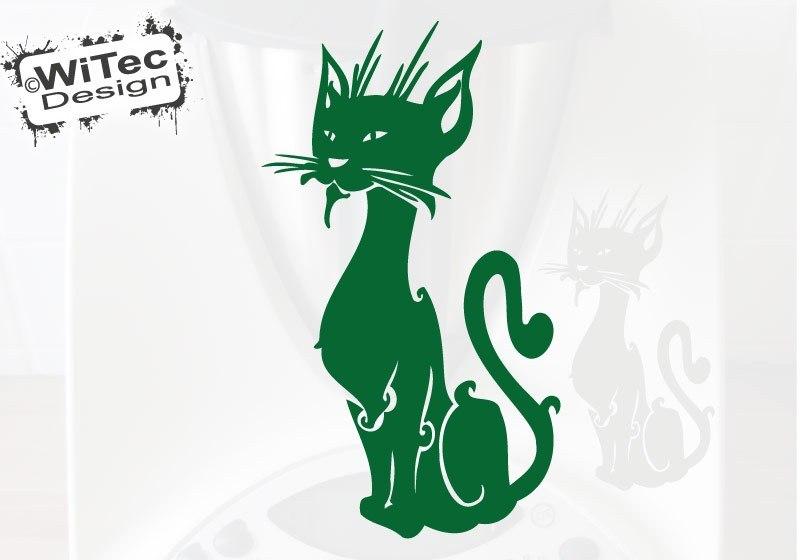 Thermomix Aufkleber Katze Deko Aufkleber für Thermomix TM31 TM 31