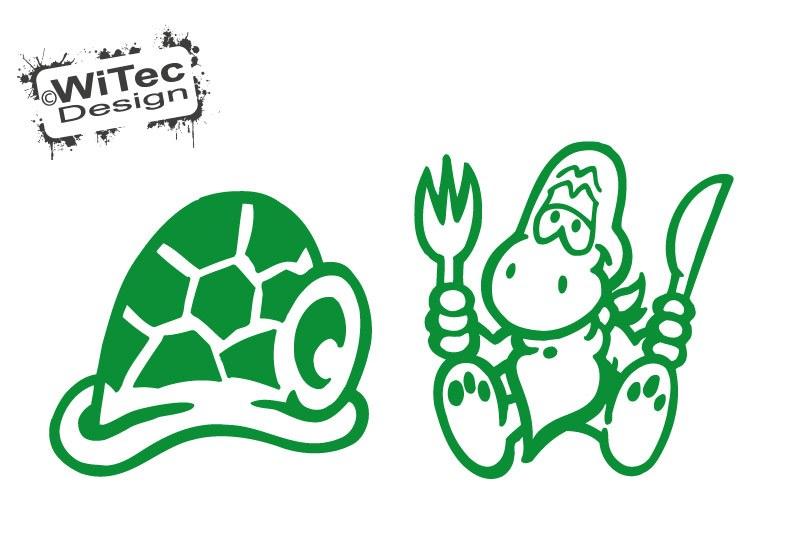 Thermomix Aufkleber Schildkröte Turtle Dekoaufkleber für Thermomix TM31