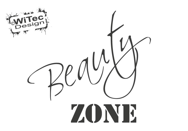 Türaufkleber Badezimmer BEAUTY ZONE Bad