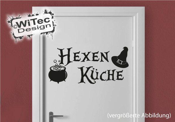 Hexe Hexenküche Türaufkleber Küche