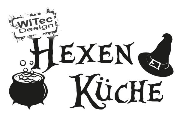 Türaufkleber Hexe Katze Hexen Küche