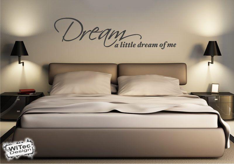 Wandtattoo Schlafzimmer Traum Wandaufkleber
