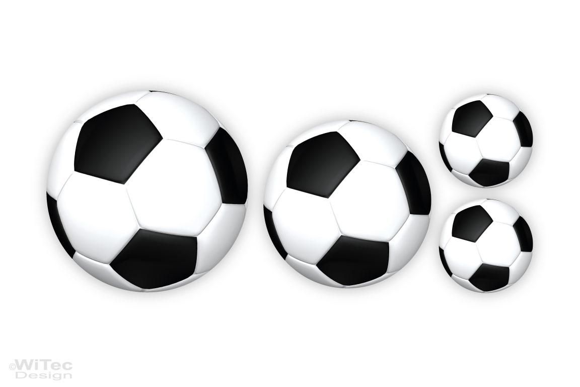 Fussball Wandtattoo Fußball Aufkleber Wandsticker